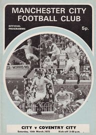 coventry home 1972 to 73 prog