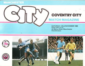 coventry home 1980 to 81