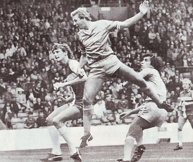 coventry home 1982 to 83 BAKER GOAL