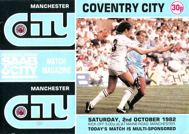 coventry home 1982 to 83 prog