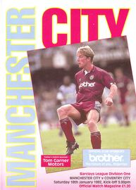 coventry home 1991 to 92 prog