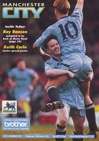 coventry home 1992 to 93 prog