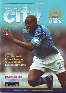 coventry home 2001 to 02 prog