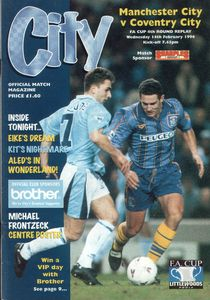coventry home fa cup 1995 to 96