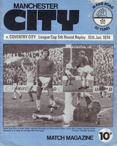 home league cup replay 1973 to 74 prog