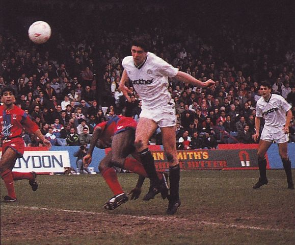 crystal palace away 1990 to 91 quinn 3rd goal