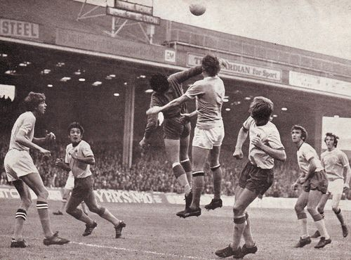 crystal palace home 1971 to 72 action