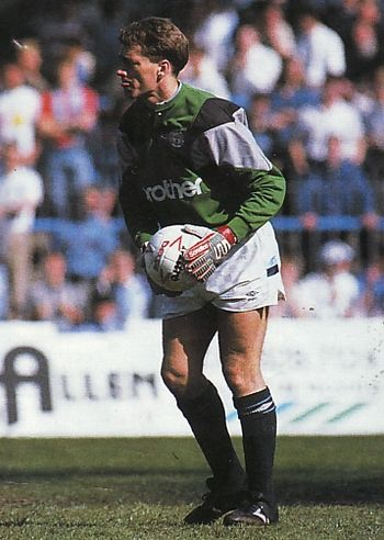crystal palace home 1988 to 89 gleghorn goalIE
