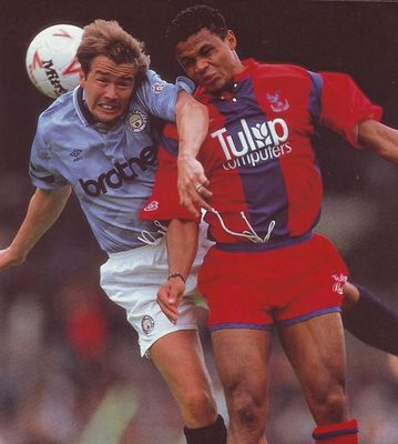 crystal palace home 1991 to 92 action