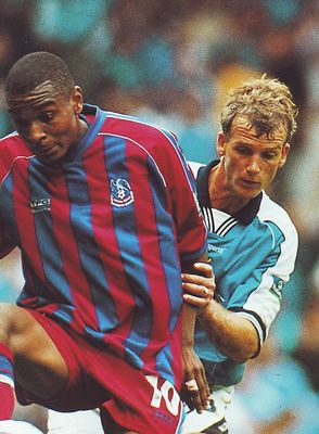 crystal palace home 1999 to 00 action
