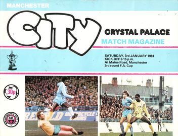 crystal palace home fa cup 1980 to 81 prog