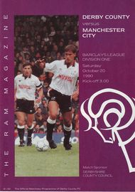 derby away 1990 to 91 prog