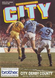 derby home 1989 to 90 prog
