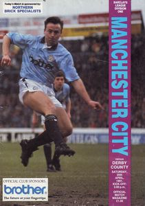 derby home 1990 to 91 prog