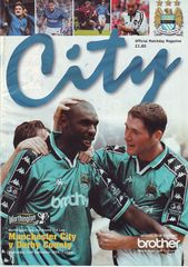 derby worthington cup home 1998 to 99 prog