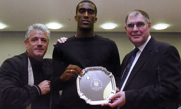 distin player of the year 2002 to 03