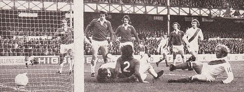 everton away 1972 to 73 lee 2nd goal