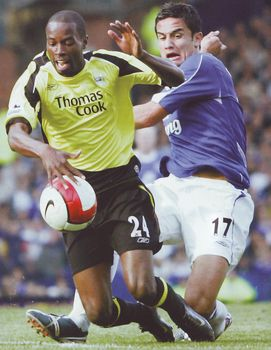 everton away 2006 to 07 action
