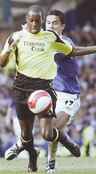 everton away 2006 to 07 action2