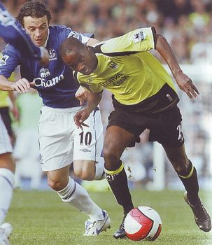 everton away 2006 to 07 action3