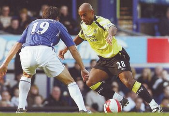 everton away 2006 to 07 action4