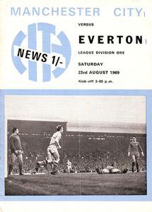 everton home 1969-70 programme