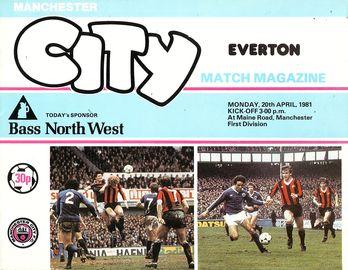 everton home 1980 to 81 prog