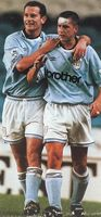 everton home 1993 to 94 action