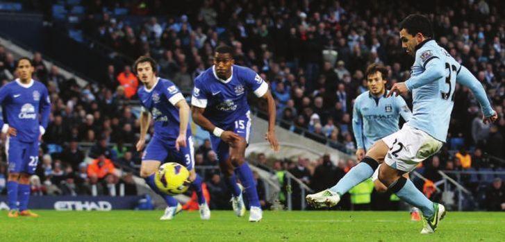 everton home 2012 to 13 tevez goal pen