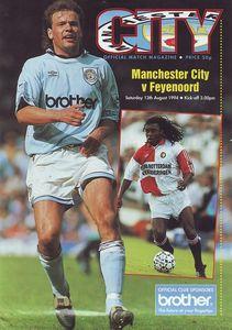 feyenord 1994 to 95 prog