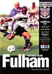fulham away 1998 to 89 prog
