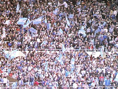 full members cup final 1985 to 86 fans