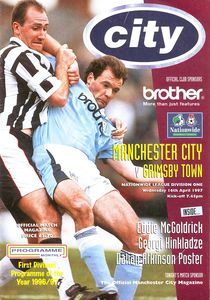 grimsby home 1996 to 97 prog