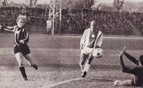 honved away 1970-71 lee goal