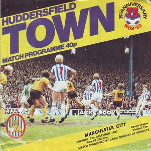huddersfield away 1983 to 84 prog