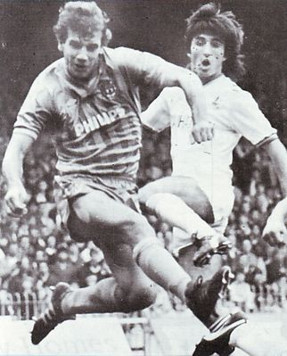 huddersfield home 1984 to 85 action