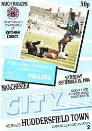 huddersfield home 1984 to 85 prog