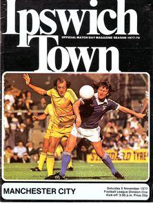 ipswich away 1977 to 78 prog