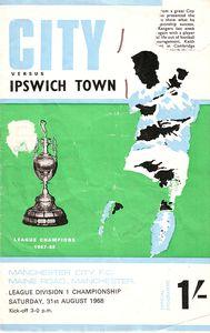 ipswich home 1968 to 69 prog