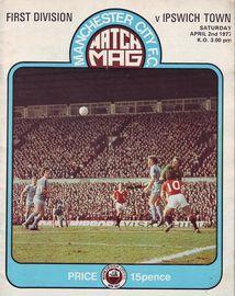 ipswich home 1976 to 77 prog