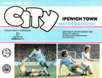 ipswich home 1980 to 81 prog