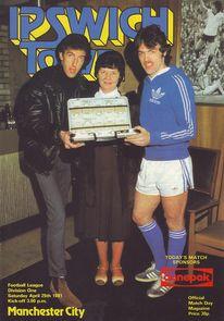 ipswichaway 1980 to 81 prog