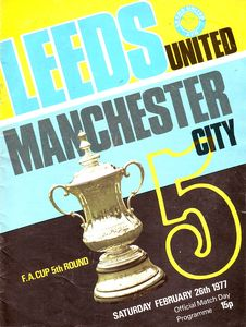 leeds away fa cup 1976 to 77 prog