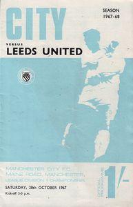 leeds home 1967 to 68 prog