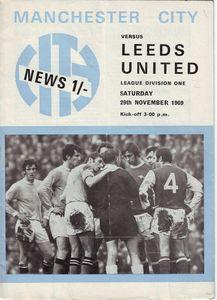 leeds home programme 1969-70