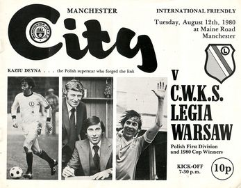 legia warsaw 1980 to 81