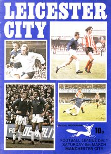 leicester away 1974 to 75 prog