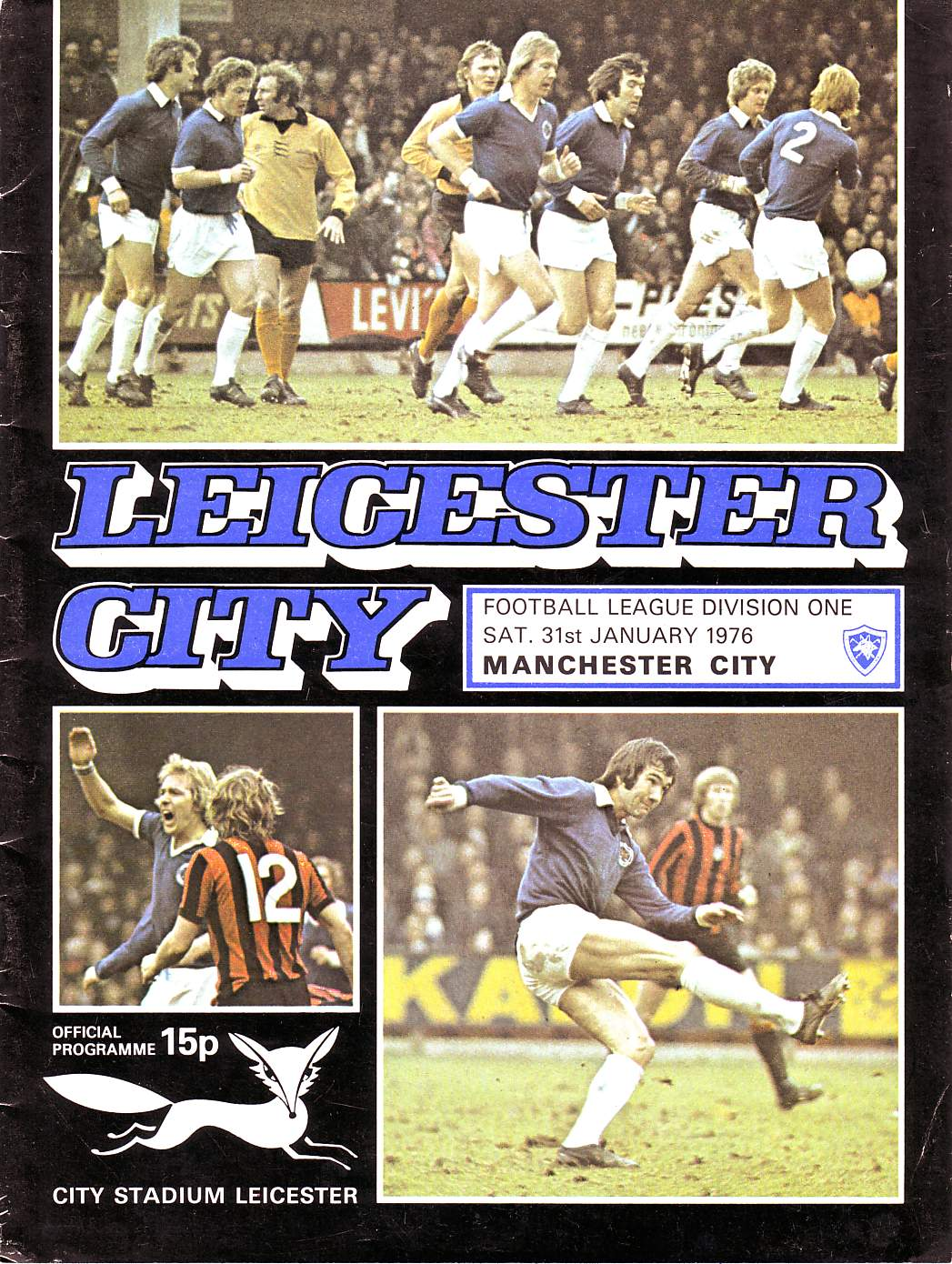 leicester away 75to76 prog