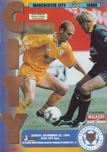 leicester away 1994 to 95 prog