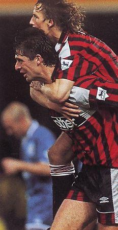 leicester away 1994 to 95 quinn goal